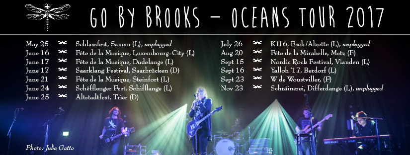 Go By Brooks on Tour
